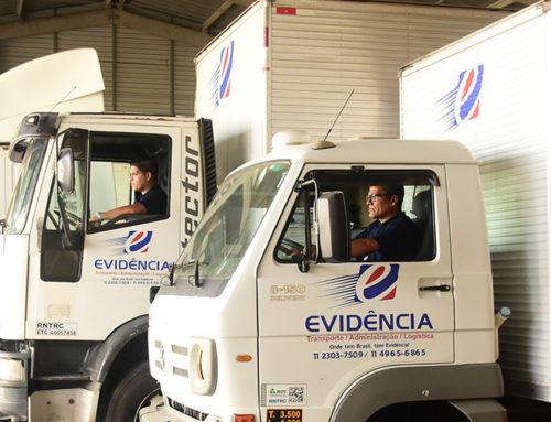 Evidência Transporte e Logística SP está em novo endereço